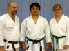 Ryan and Katherine Sperry with Sensei Murakami