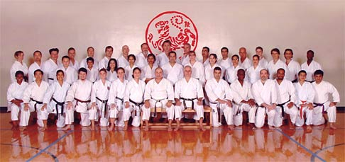 Houston Shotokan Group Photo
